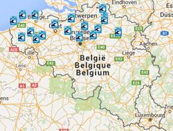 Klik op de kaart en ga naar de Witgoedservice in uw regio.